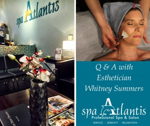 Spa Atlantis new orleans Esthetician Whitney Summers